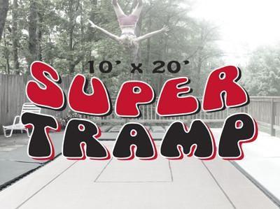 Super Tramp Package, for trampoline beds measuring 10x20 feet