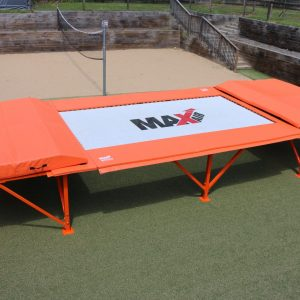 MaxAir's 7'x14' competition trampoline for sale.