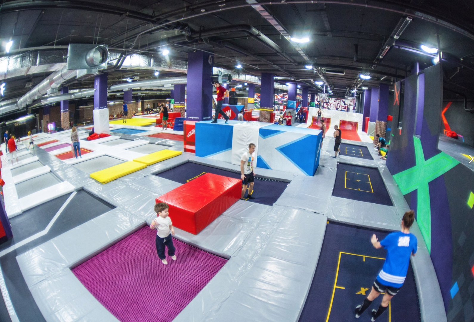 Trampoline park locations