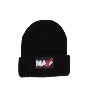 Black MaxAir winter beanies