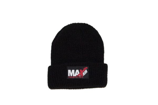 Black MaxAir winter beanies