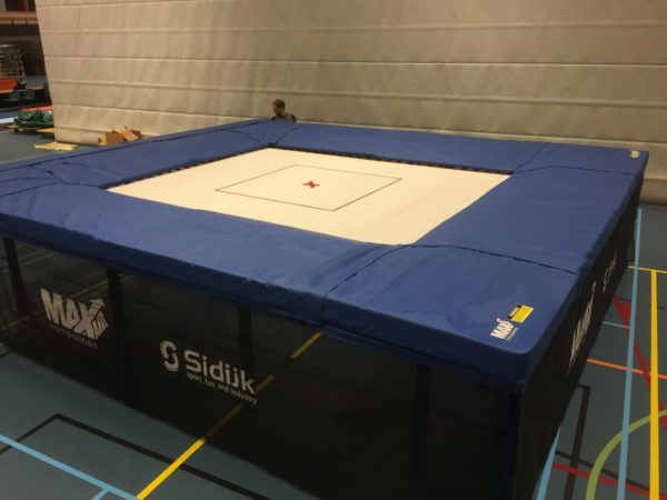 MaxAir's deluxe 10x12 large trampoline for sale.