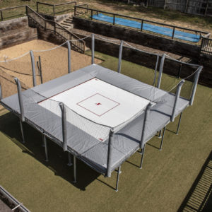 Above Ground Trampoline, Picture of Trampolines